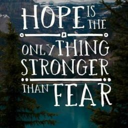 Food For Thought: Hope > Fear