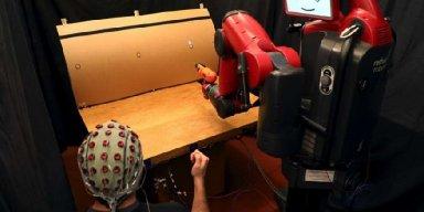 Brainwave reading robots