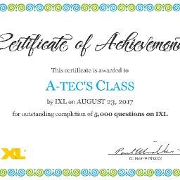 IXL Awards