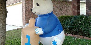 Pol the Hanukkah Bear!