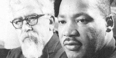 Rabbi Abraham Joshua Heschel and Martin Luther King, Jr.