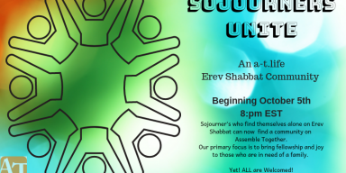 Coming October 5th Erev Shabbat Community