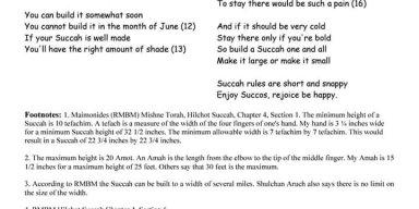 A little Sukkot Fun