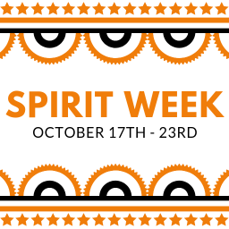 Spirit Week October 17th to the 23rd!