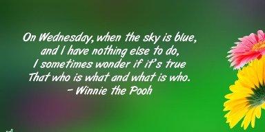 Pertinent Pondering