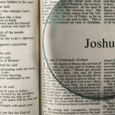 T54 - Haftarah - Joshua 1:1-18