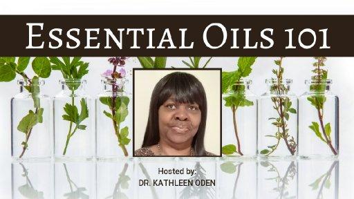 ESSENTIAL OIL 101
