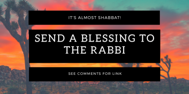 Rabbi Blessings