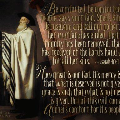 T45 - Haftarah - Isaiah 40:1-40:26